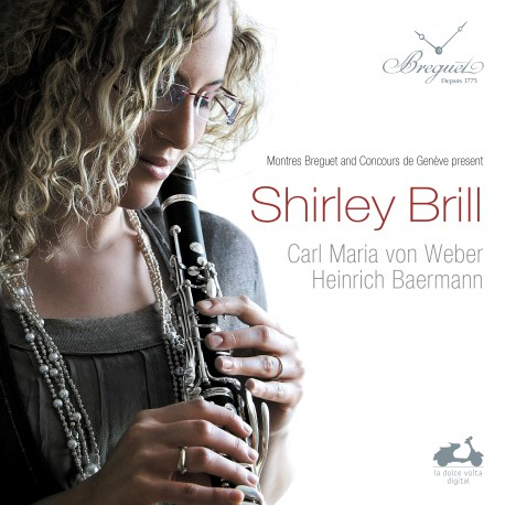 Shirley Brill / WEBER -Concerto for clarinet and orchestra in F minor, op. 73 no.1