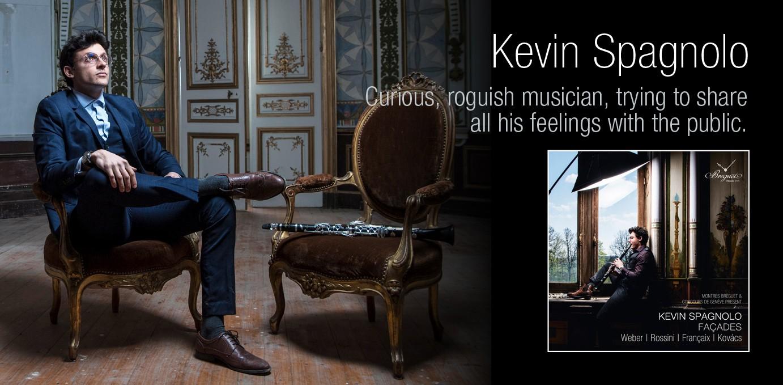 Estore Genève - Kevin Spagnolo (clarinette)